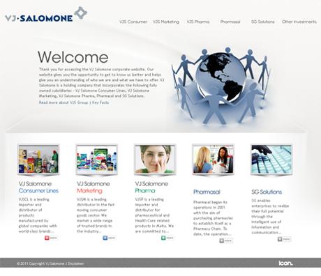 ICON launches a brand new site for VJ Salomone