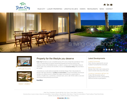 Palm City Residences New Website