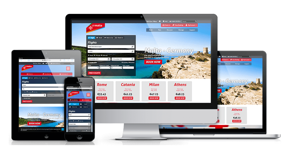 Enhancing Air Malta's Digital Presence