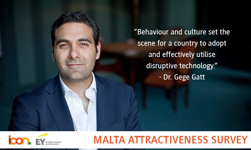 ICON at Malta Attractiveness Survey 2016
