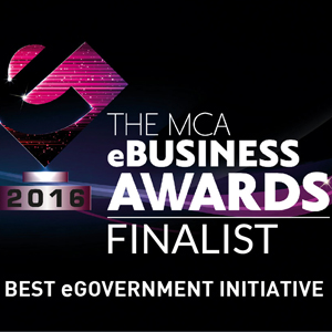 MCA eBusiness Awards Best eGovernment Initiative