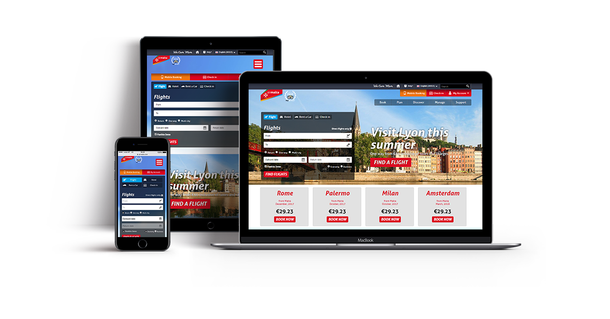 ICON Digital Marketing for Air Malta