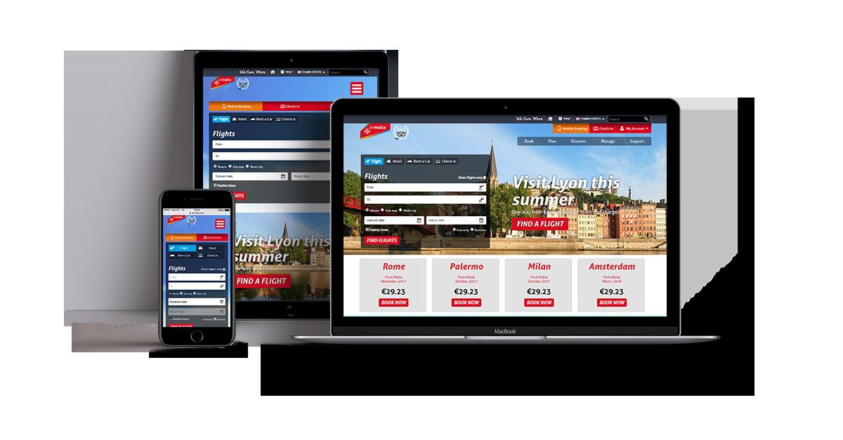 ICON Digital Marketing for Air Malta