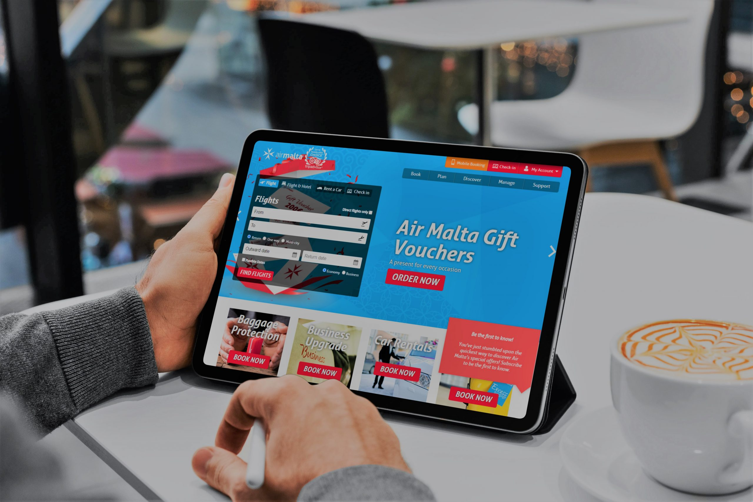 A digital solution for airline, Air Malta | ICON